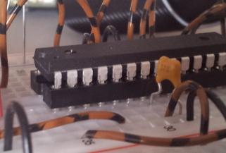 Prozessor im Sockel